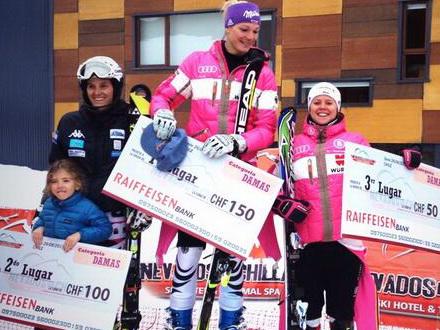 Hoefl-Riesch y Rebensburg se reparten el podio en Chile, brillan Paul de la Cuesta y Ferran Terra