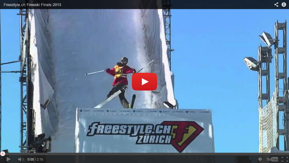Finales Freestyle.ch Freeski 2013
