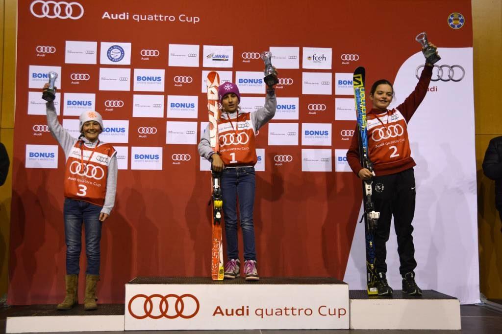Ganadoras alevines II damas.