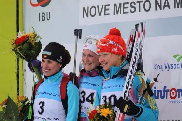 Victoria Padial hace historia en el biatlón con dos platas en el Europeo