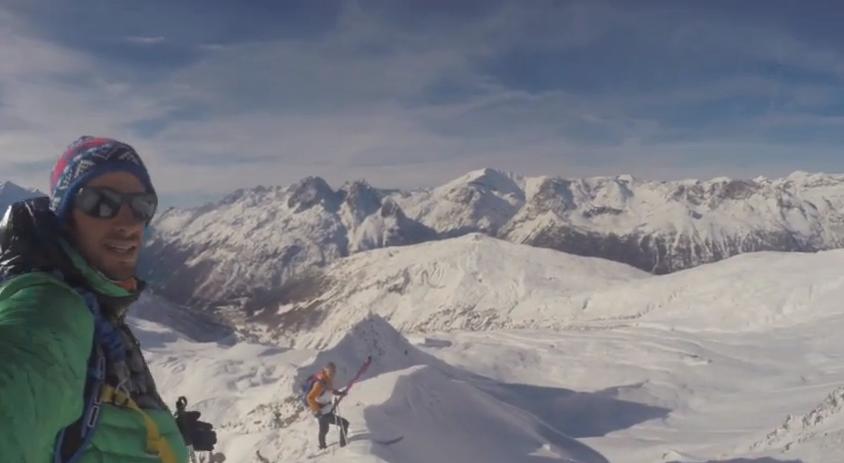 Vídeo: caída de Kilian Jornet en pleno descenso