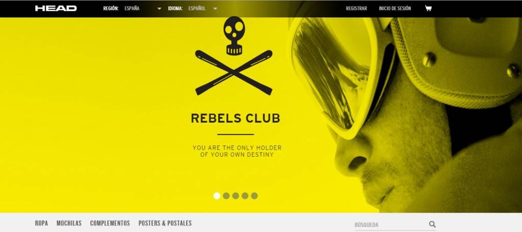 Head pone en marcha su Rebels Club