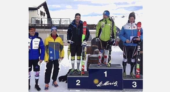 Podios FIS de Álex Puente y Quim Salarich en St Moritz