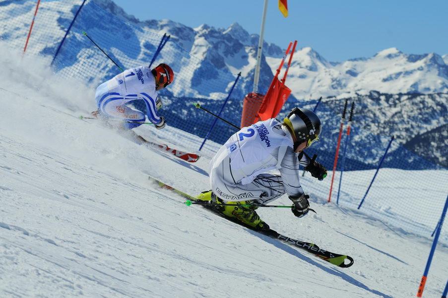 Becas a través del esquí en el Trofeo Fundación Jesús Serra en Baqueira Beret