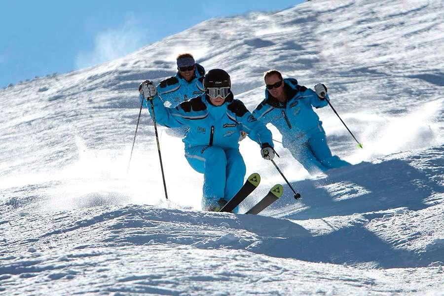 ¿Quieres ser profesor de esquí?