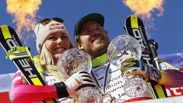 Lindsey Vonn y Kjetil Jansrud, los reyes de la velocidad de esta temporada