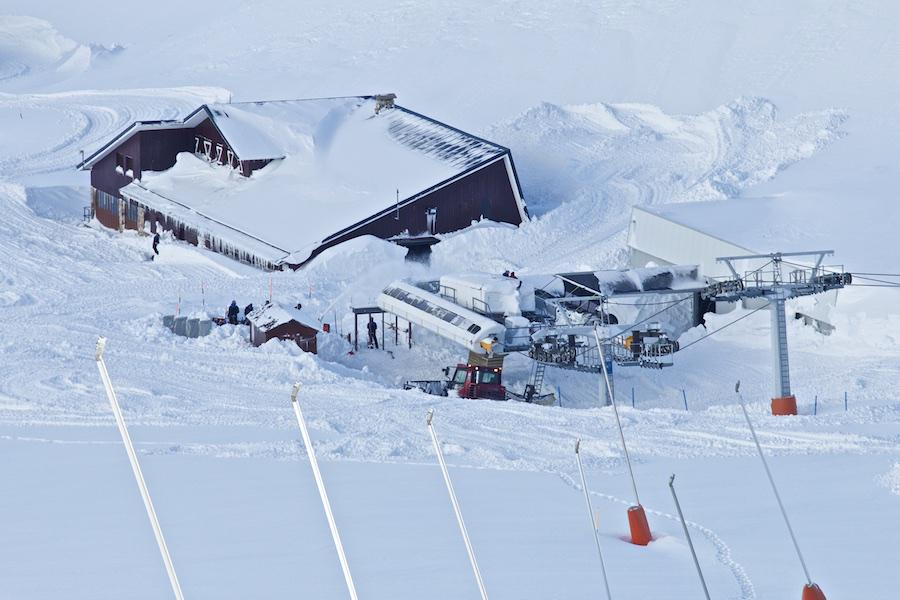 Las estaciones de esquí de León reciben 9.700 usuarios el fin de semana