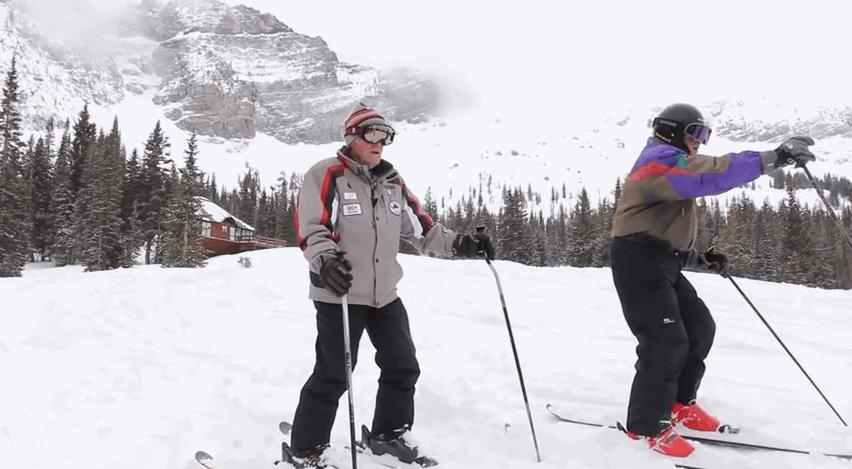 VÍDEO: Esquiar con 97 años
