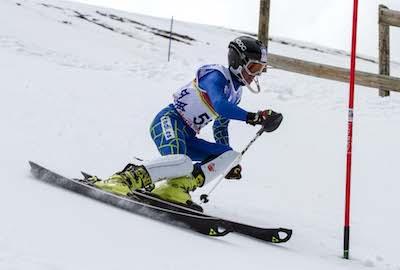 Espectáculo en el Trofeo Caja Rural de Esquí Alpino