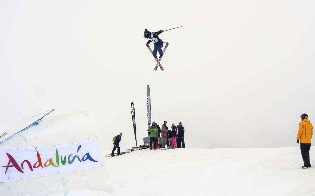 Sierra Nevada decide el Campeonato de España de Freestyle