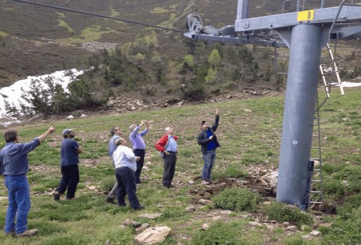 Tavascan ya trabaja en la reparación de la pilona dañada