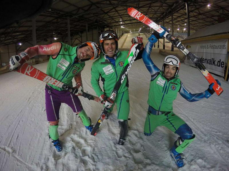 Los equipos jóvenes de esquí alpino de la RFEDI preparan las Copas de Europa y Copas del Mundo