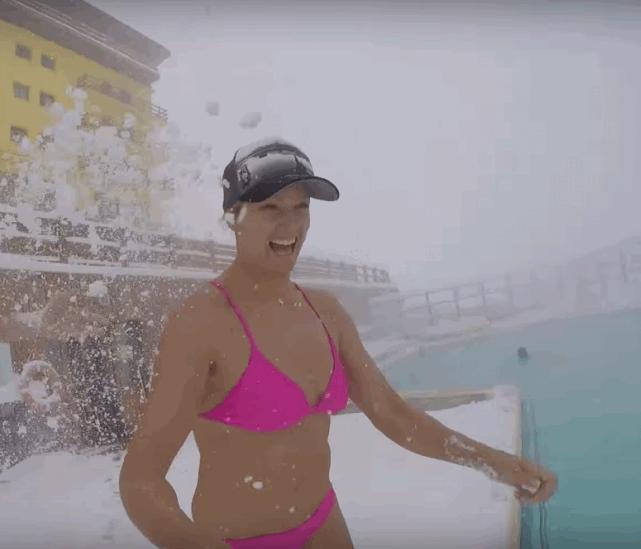 VÍDEO: Esquiando un día en Portillo con Julia Mancuso