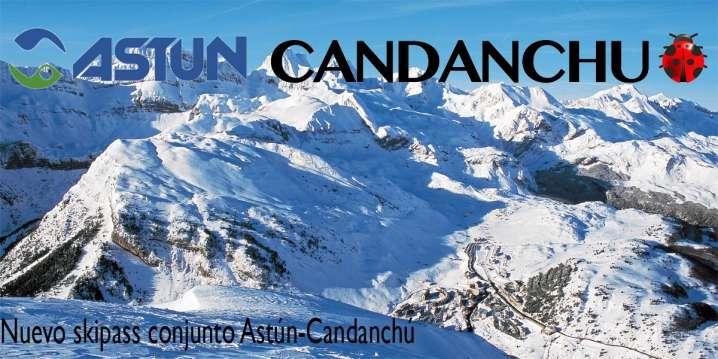 Astún y Candanchú lanzan una tarjeta para esquiar en sus estaciones