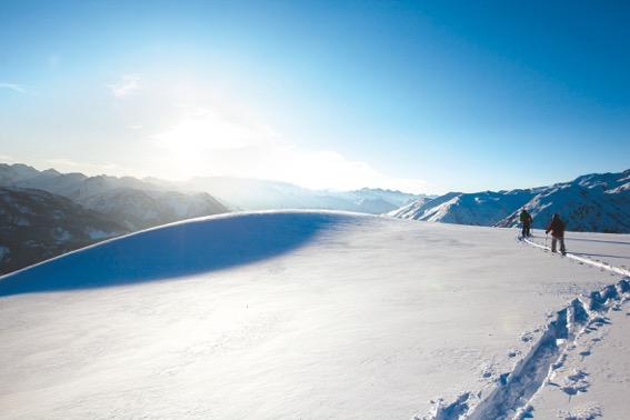 Nuevos circuitos de esquí de montaña en Baqueira Beret