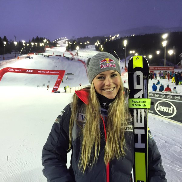 Espectacular triunfo de Lindsey Vonn en Are