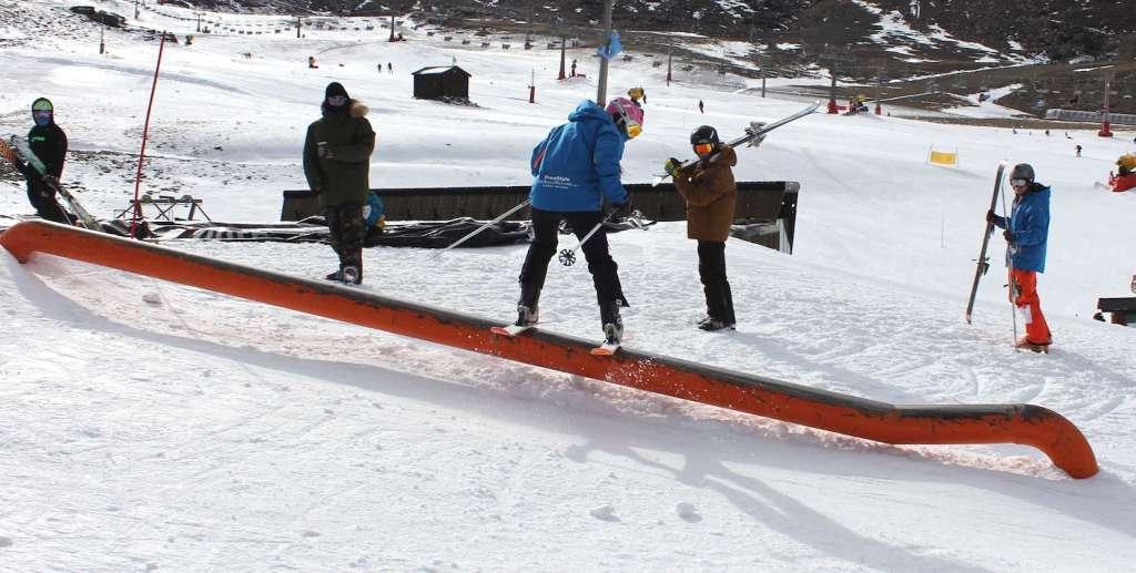 Sierra Nevada traslada el snowpark para ampliarlo