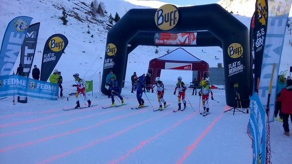 Arranca la primera prueba del Gran Premio Millet de Esquí de Montaña en Cerler