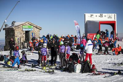 El Trofeo María José Rienda ha abierto la temporada de competición en Sierra Nevada