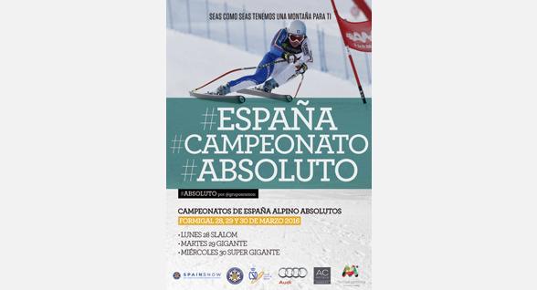 150 esquiadores participarán en los Campeonatos de España Absolutos en Formigal
