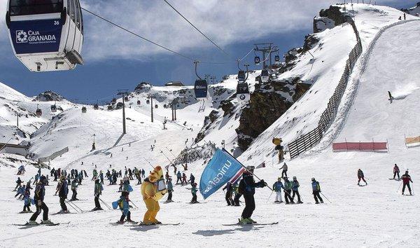 Previsión de nieve para el fin de semana del 9 y 10 de abril