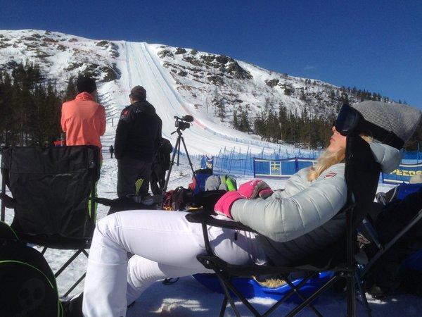Simone Origone se adelanta en la Copa del Mundo de esquí de velocidad en la penúltima prueba en Idrefjaell (Suecia)