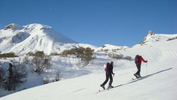 Esquí de montaña en los Valles de Campoo