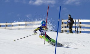 Medio centenar de esquiadores en el Campeonato de Andalucía de Alpino U14 y U16