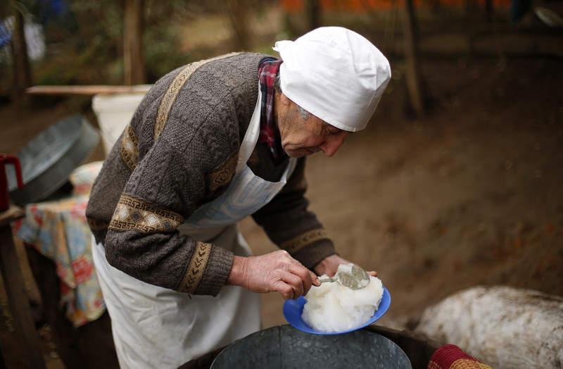 El helado de nieve que dejá helado a Jordi Roca