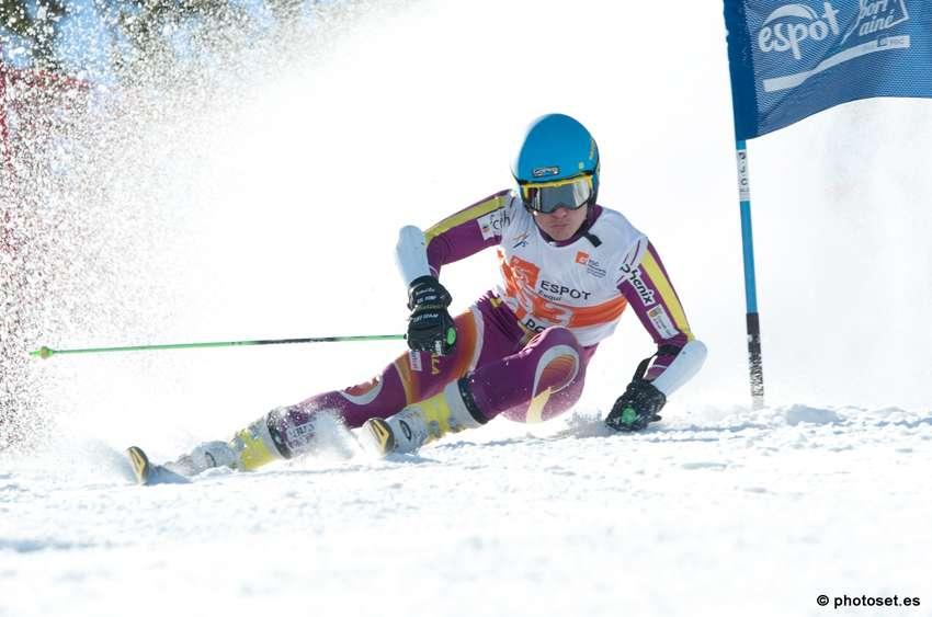 El esquiador Albert Ortega