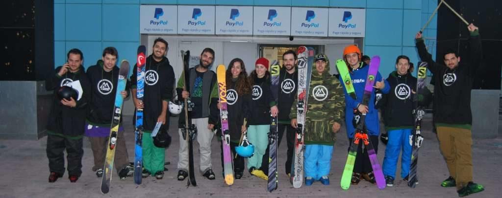 Son la primera escuela de freeski , esquí freestyle , de Madrid.