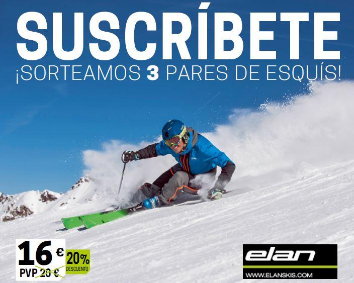 ¿Quieres ganar unos esquís Elan?