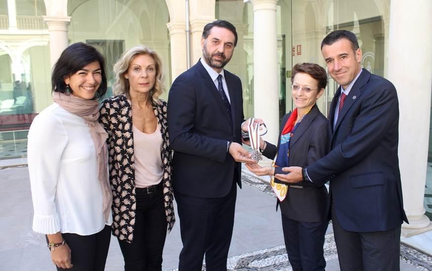 Sierra Nevada 2017 constituye el comité de honor del Mundial con implicación de todas las instituciones