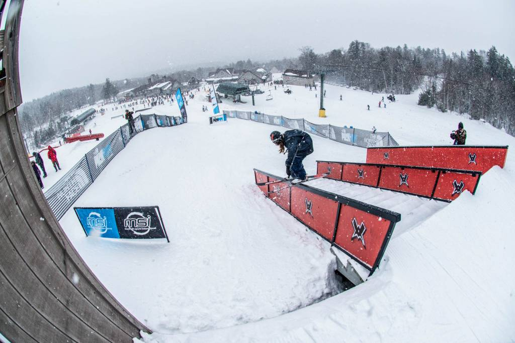 The North Face Park & Pipe Open Series , una puerta abierta para los freestylers