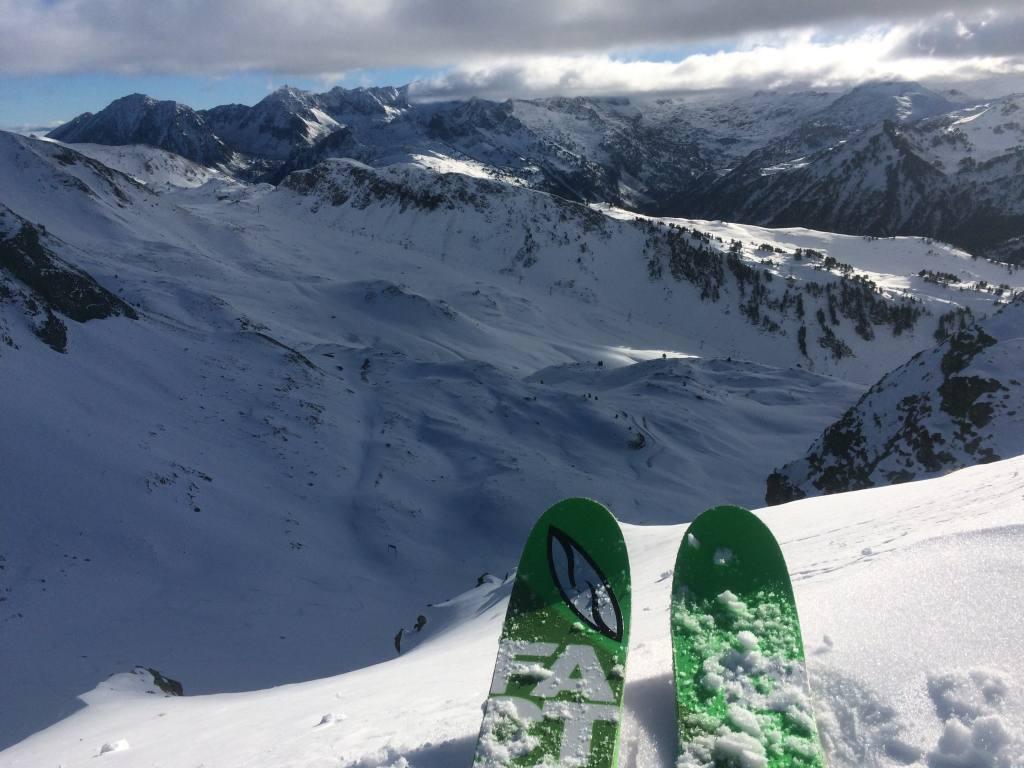 primera esquiada baqueira