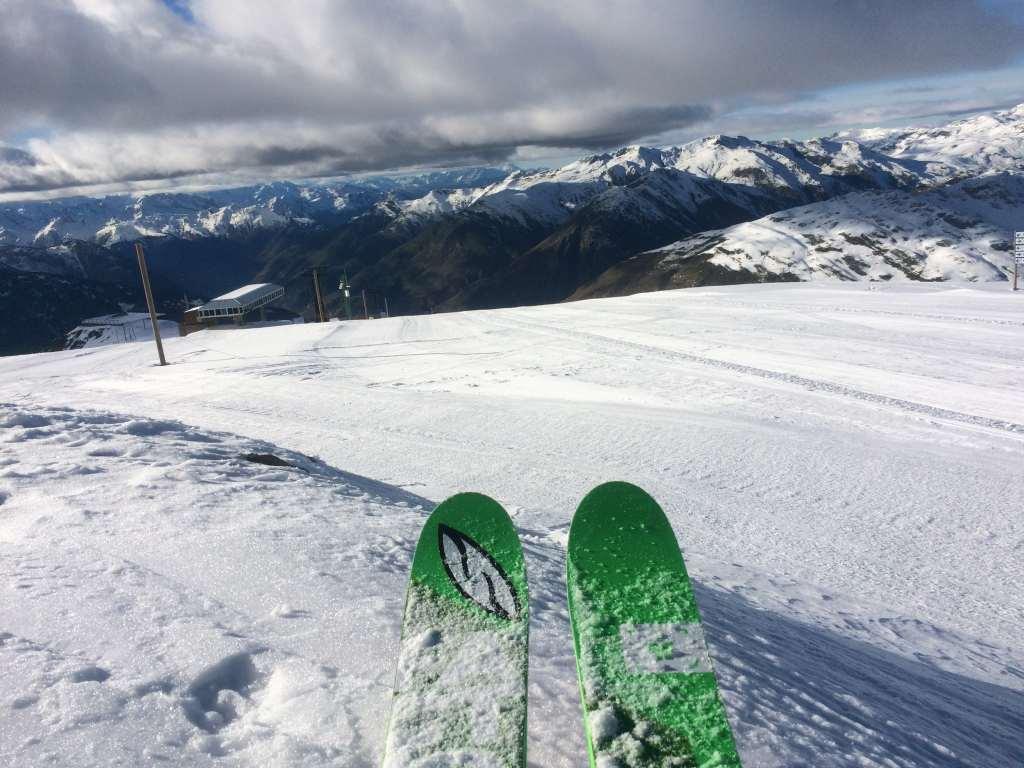 primer dia esquí temporada 2016