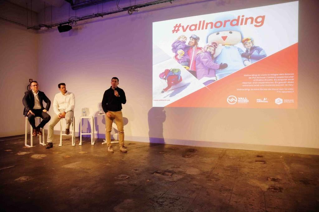 Presentación de las novedades de Vallnord en Barcelona