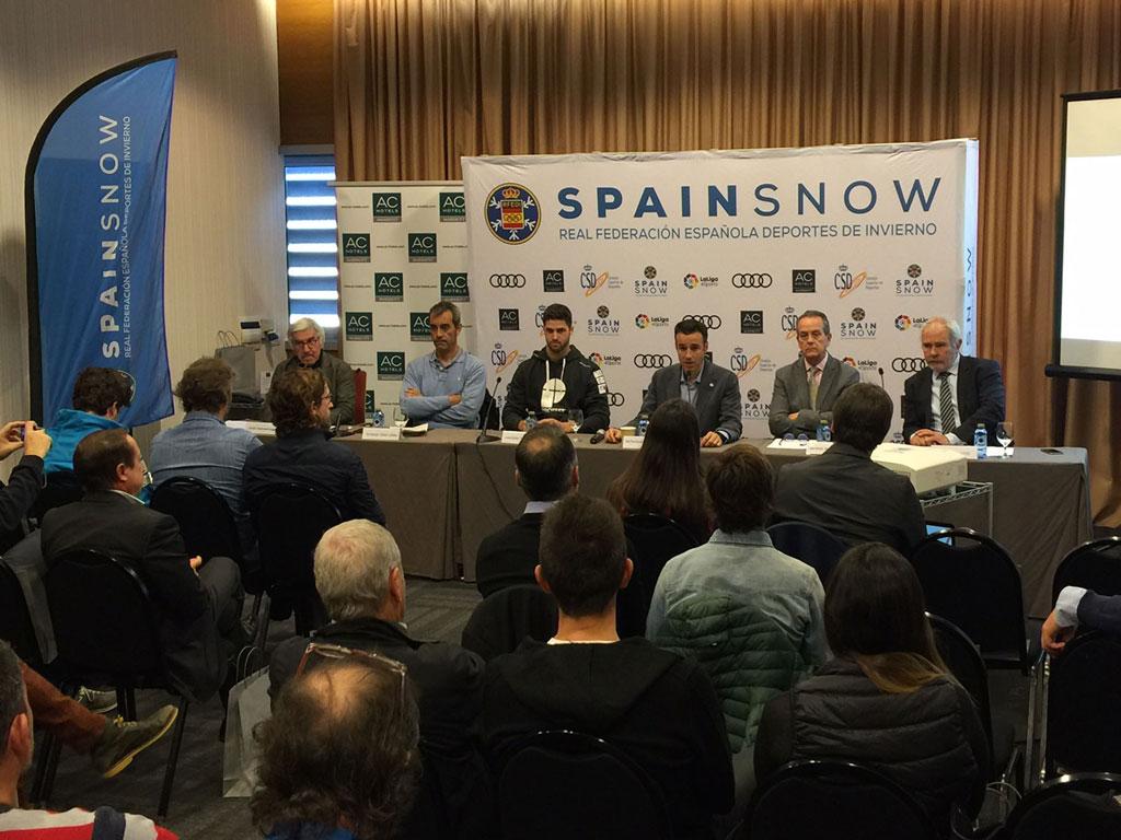 El Trofeo Spainsnow inaugura la Copa España Audi U16 en Madrid SnowZone