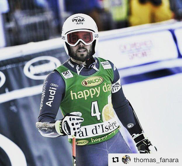 Los ligamentos de la rodilla de Thomas Fanara no aguantaron las curvas de Val d'Isere