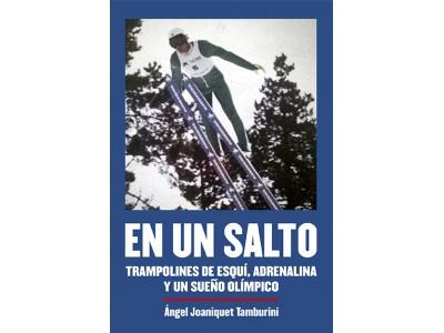 En un salto, trampolines de esquí, adrenalina y un sueño olímpico