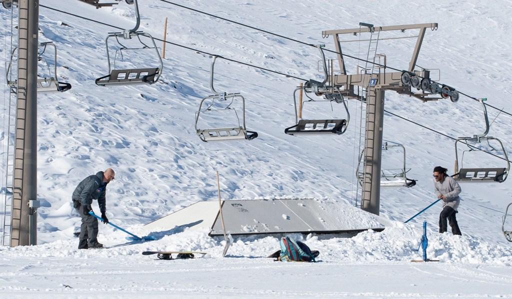 El snowpark Sulayr arranca la temporada con el Miniparque de iniciación y un sector de nivel intermedio