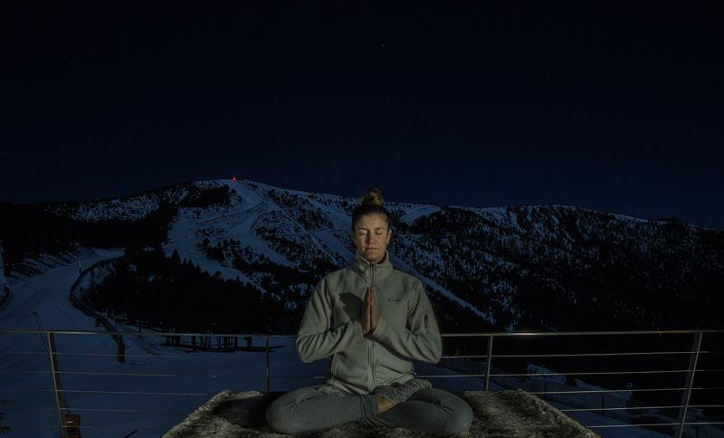 Nieve, yoga a 2.000 metros y Papá Noel en Vallnord