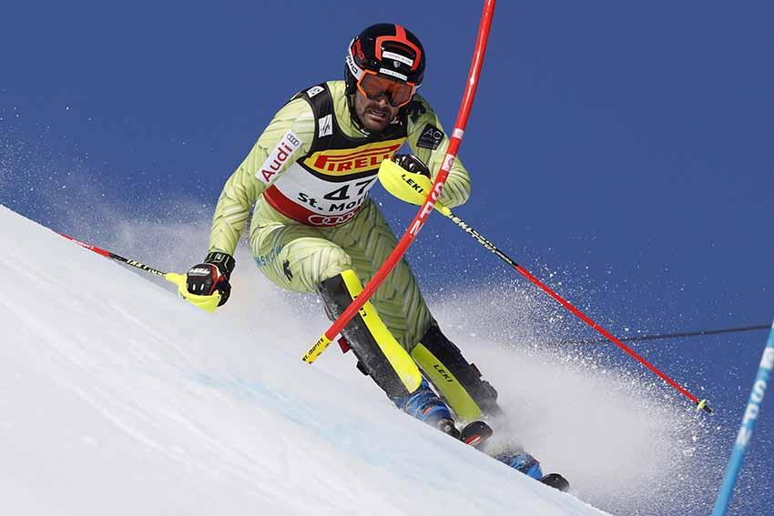 Gran resultado de Quim Salarich con el top 25 en el Slalom de los Mundiales de St Moritz (Suiza)