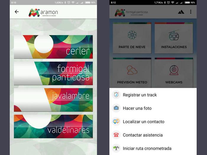 La App de Aramón revoluciona el mundo del esquí