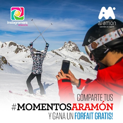Consigue un forfait gratis para esquiar en Aramón