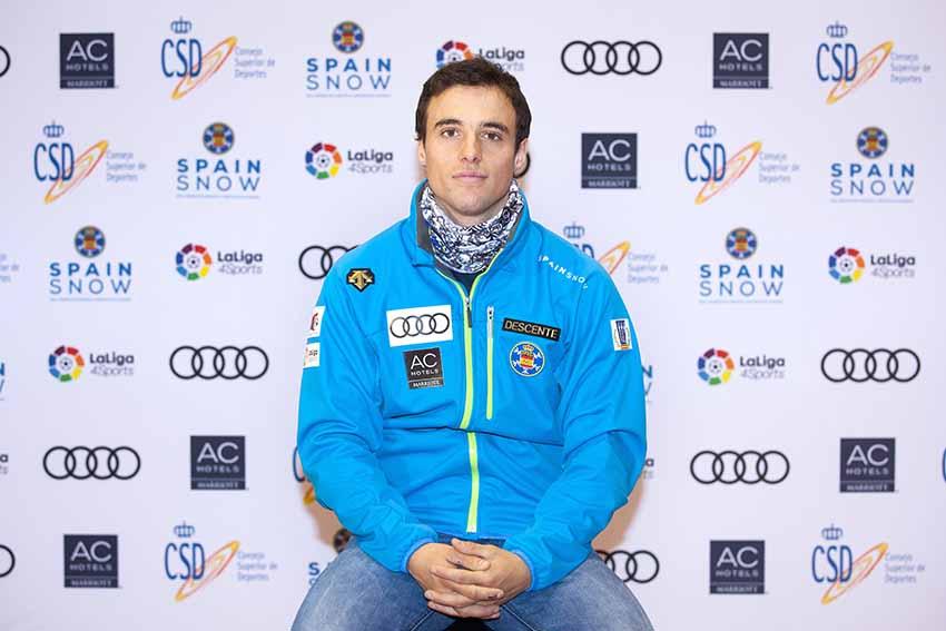 """Entrevista Álex Puente: """"La única preocupación de los esquiadores U12/10 debe ser pasarlo bien"""""""