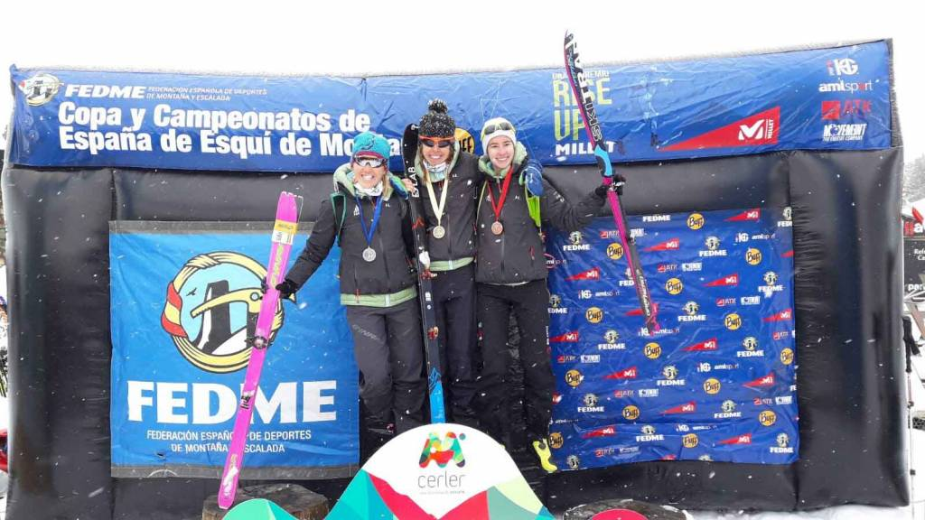 Laura Orgué y Clàudia Galicia copan el podio del Campeonato de España