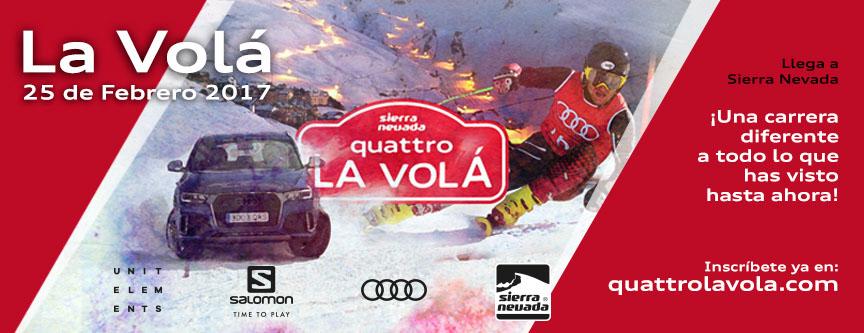 La Volá: una noche de competición, esquí y fiesta en Sierra Nevada