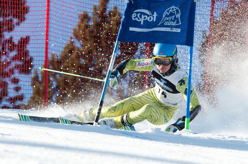 Cinco esquiadores españoles en el Campeonato del Mundo FIS Júnior de esquí alpino en Are (Suecia)