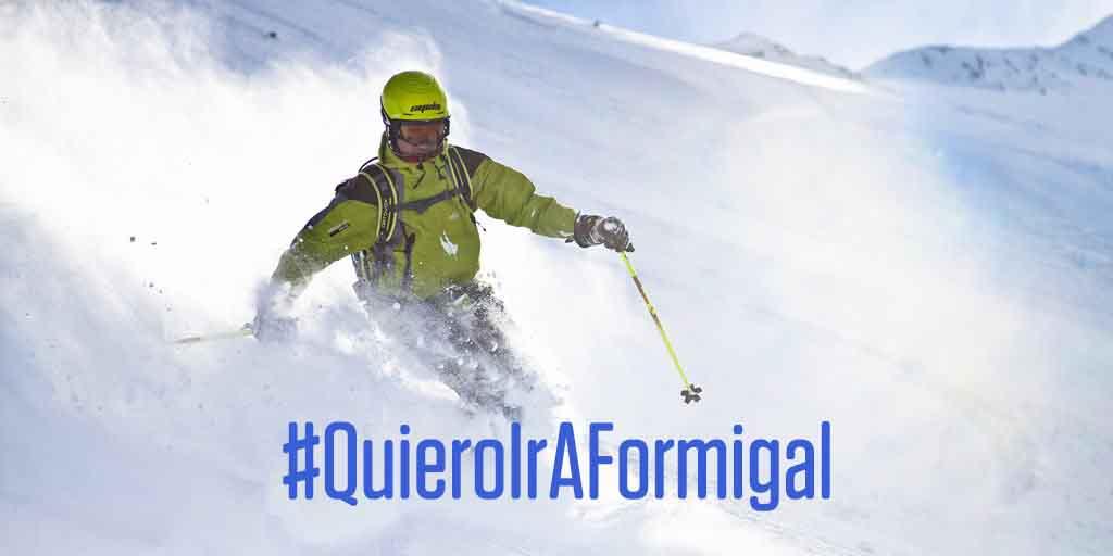La primavera llega a las estaciones de Aramón con nieve fresca y competiciones de alpino y freestyle